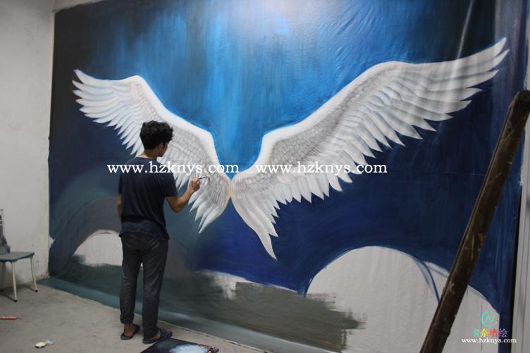 翅膀-3d立体画